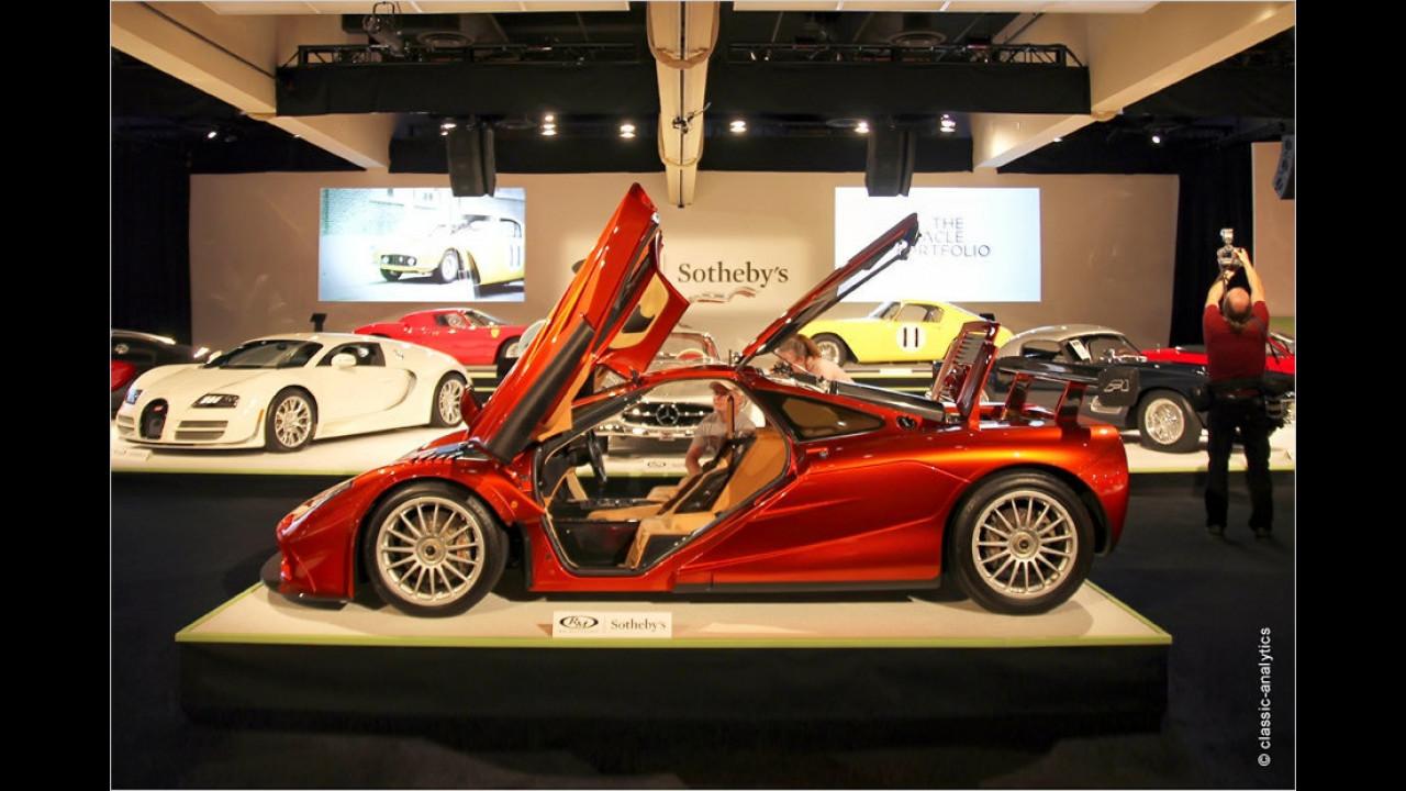 Platz 5: McLaren F1 (LM-Spezifikation), Baujahr 1998