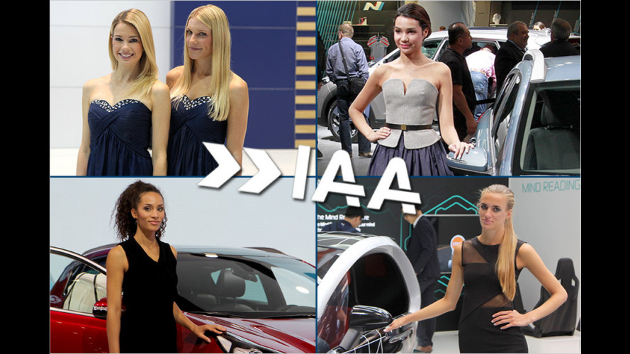 IAA 2015: Die heißesten Girls