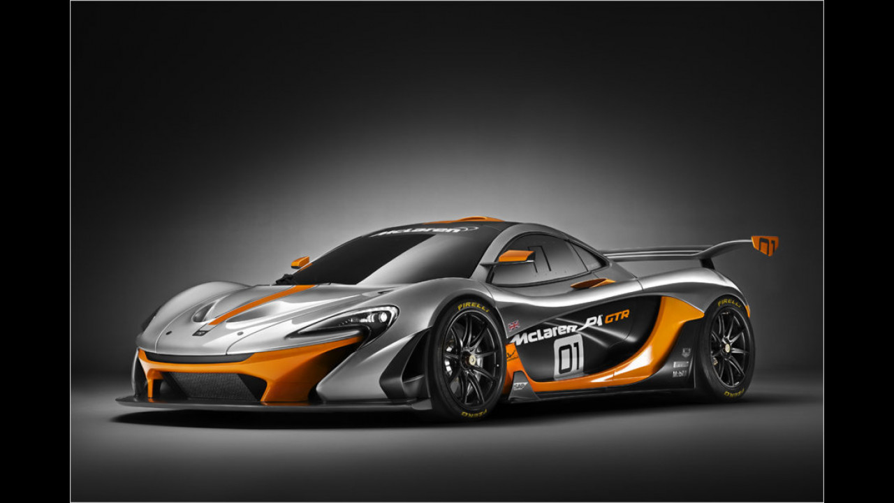 Ultimativer McLaren P1 GTR in Pebble Beach vorgestellt