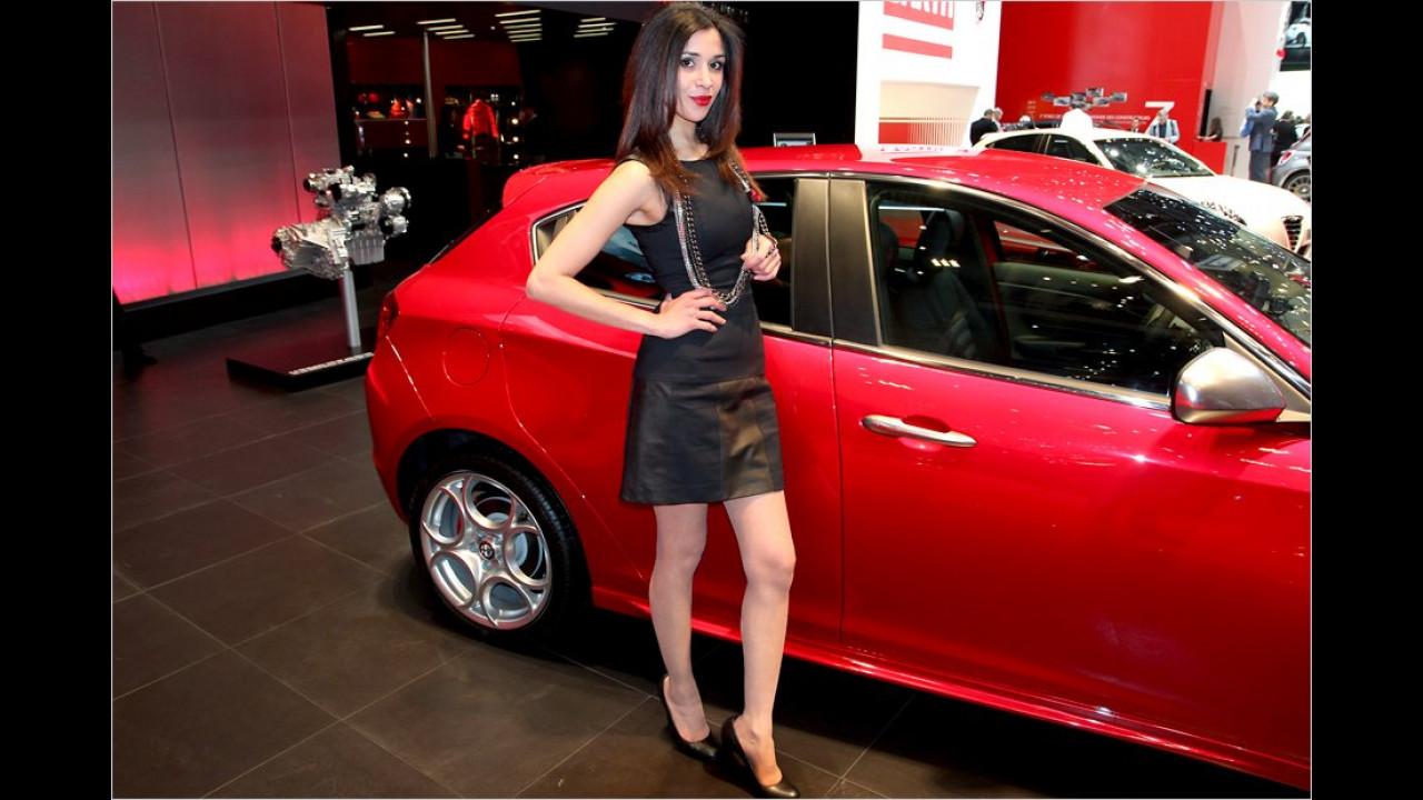 Hier sind wir bei A wie Auto, aber auch wie Alfa Romeo, Adriana und Angst vor selbstbewussten Frauen