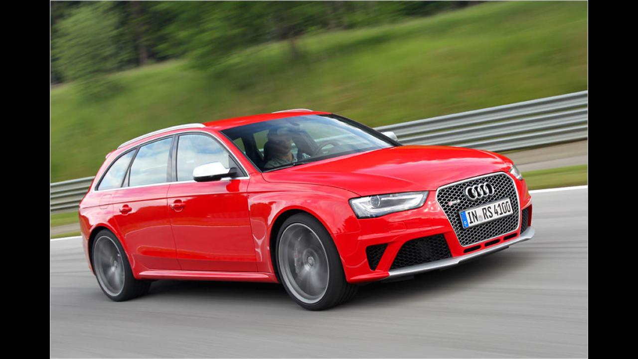Platz 5: 450 PS im Audi RS 4 Avant