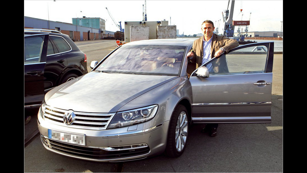 Klaus Allofs: VW Phaeton