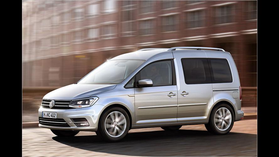 Der neue VW Caddy (2015)