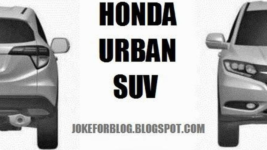 Honda Urban SUV production version revealed via leaked patent photos