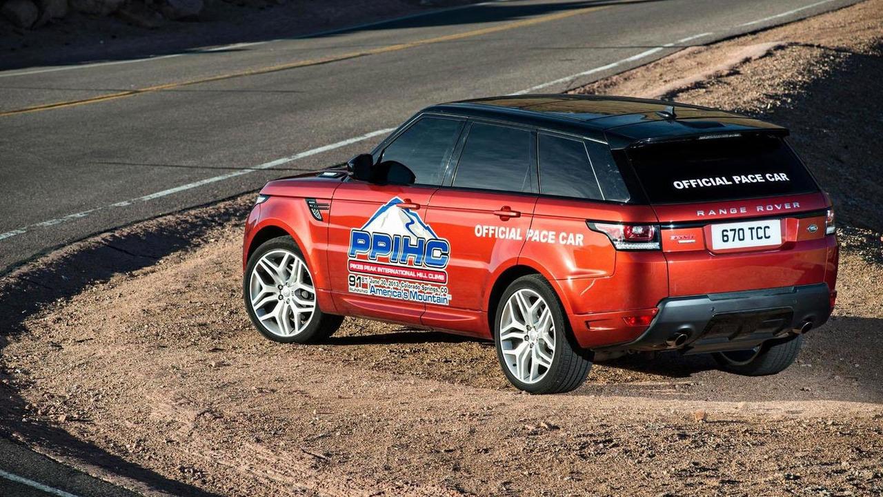 Range Rover Sport Pace Car for Pikes Peak Hill Climb 28.6.2013