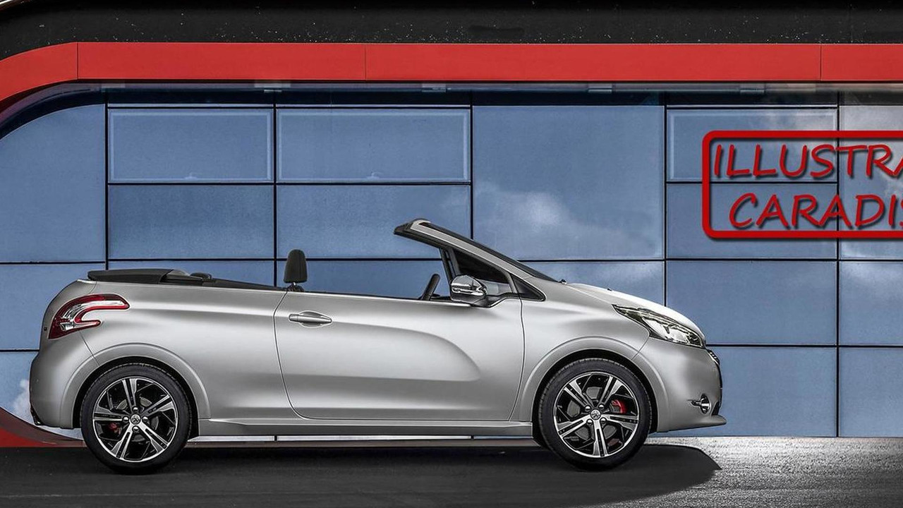 peugeot 208 convertible due in 2015 with soft top - report