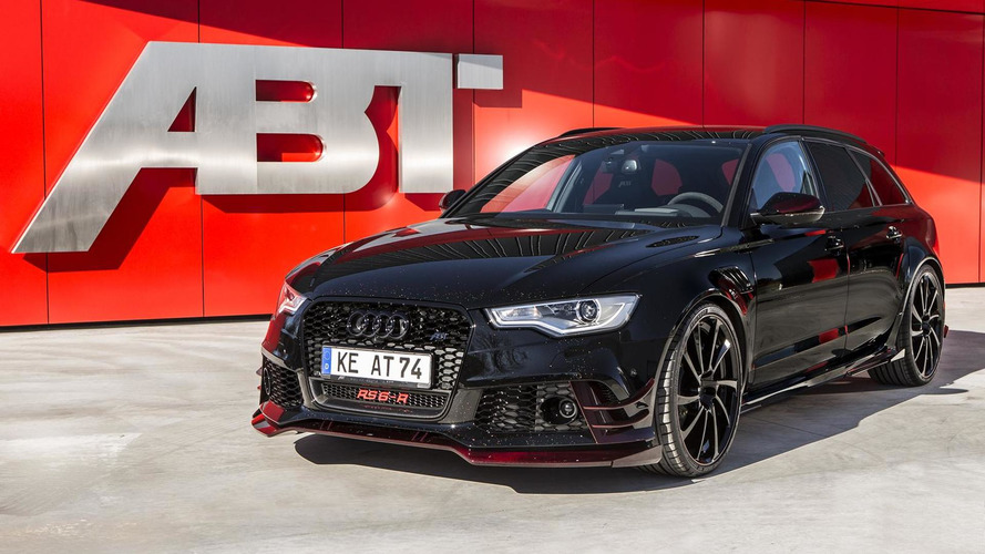 730 HP Audi RS6-R Avant by ABT heading to Geneva