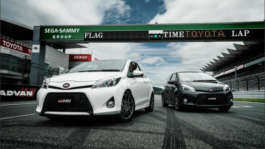 Toyota Vitz GRMN Turbo introduced in Japan