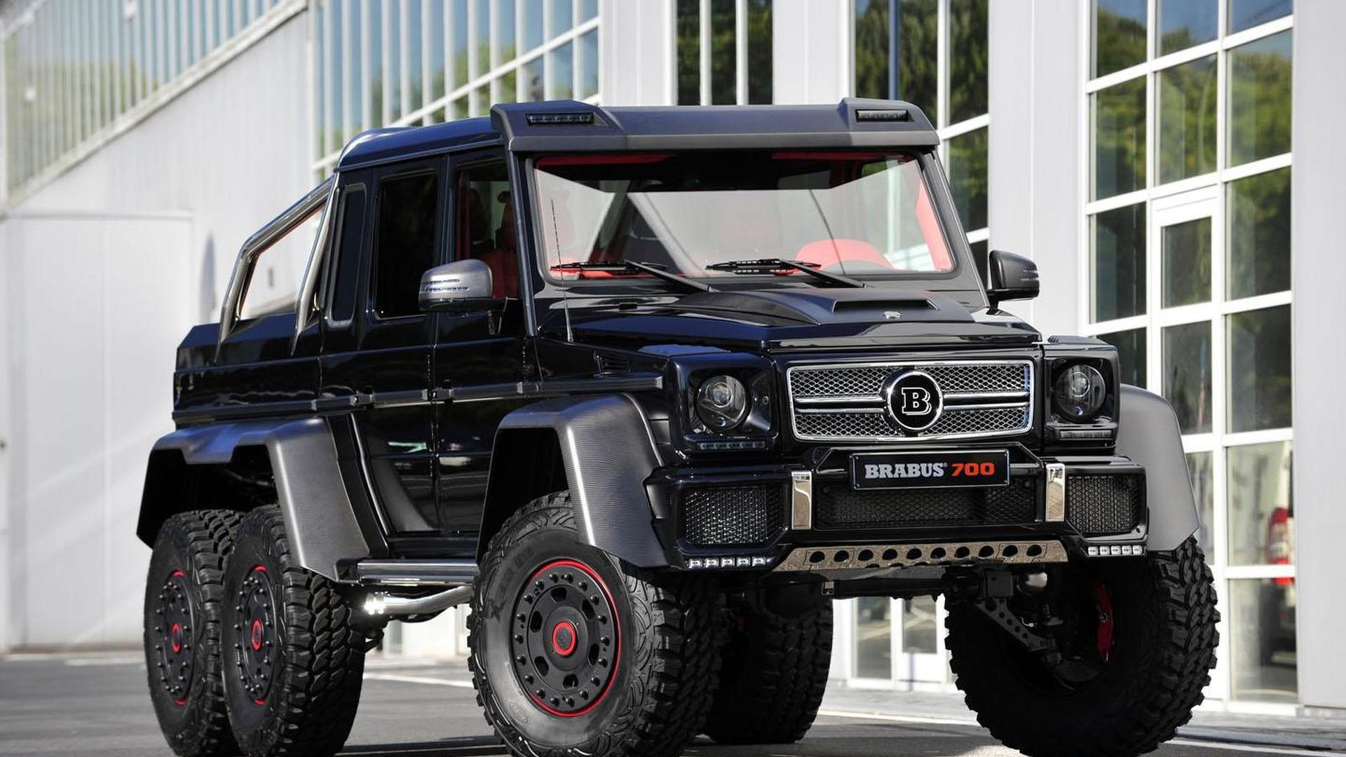 brabus b63s announced based on the mercedes g63 amg 6x6