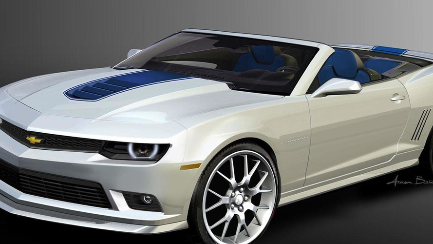 2014 Chevrolet Camaro Spring Edition to debut at SEMA