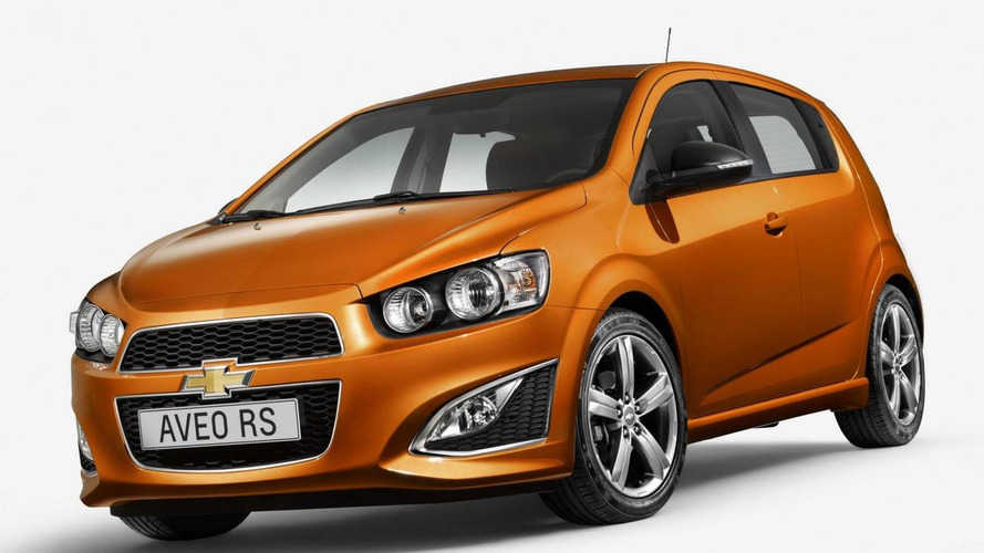Chevrolet Aveo RS coming to Europe ?