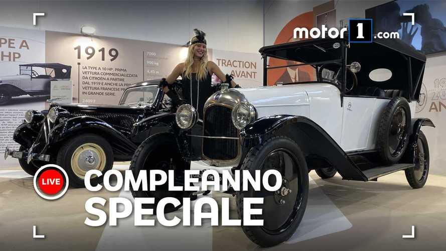Auto e Moto d'Epoca: omaggio a Citroen, papà della trazione anteriore
