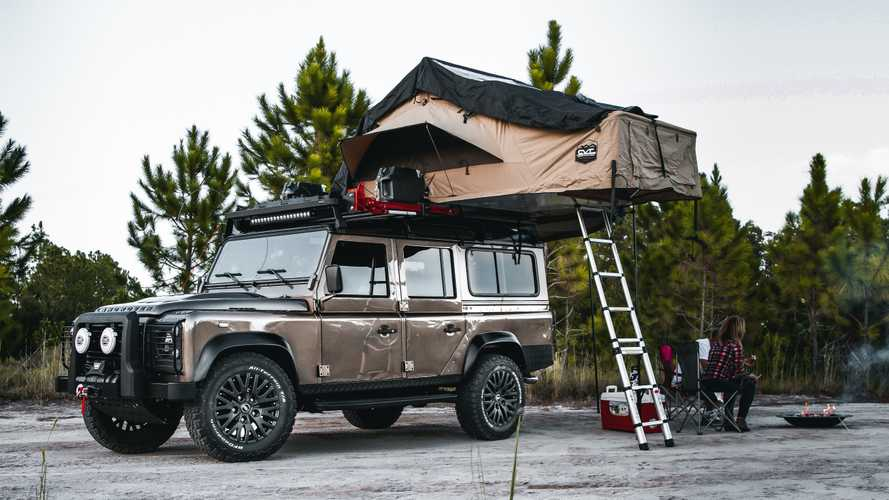 Would You Pay $240K For This Land Rover Defender 110 Overlander Conversion?