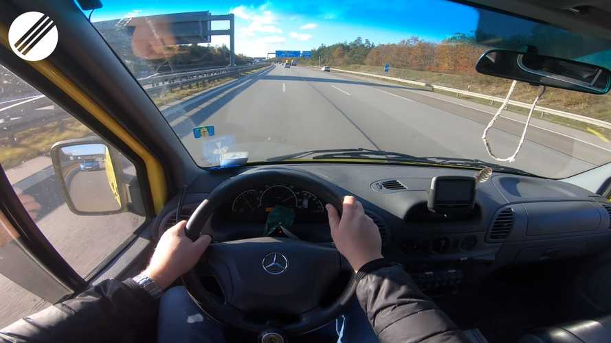 Watch A Mercedes Sprinter Ambulance Go Flat Out On The Autobahn