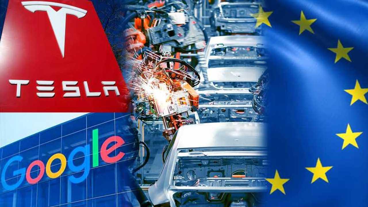 Tesla Google Europa