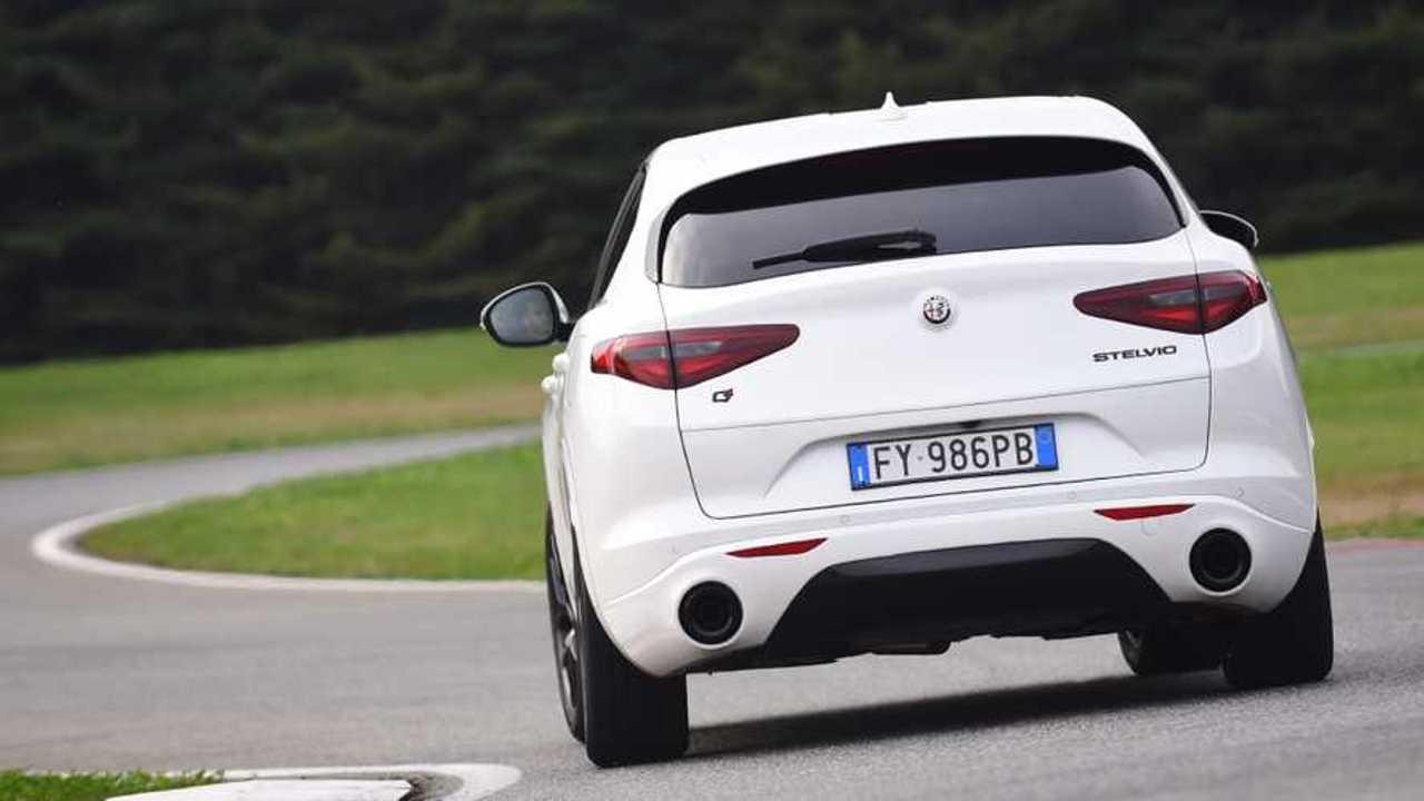 Prueba Alfa Romeo Stelvio 2020 (en circuito)