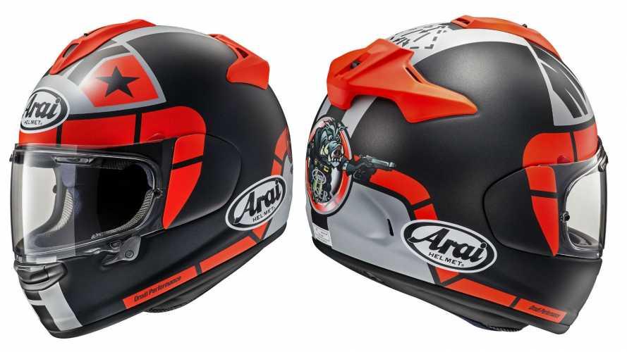 Arai Chaser-X Maverick GP, il casco di Vinales