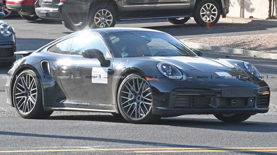 Porsche 911 Turbo spied testing on two continents