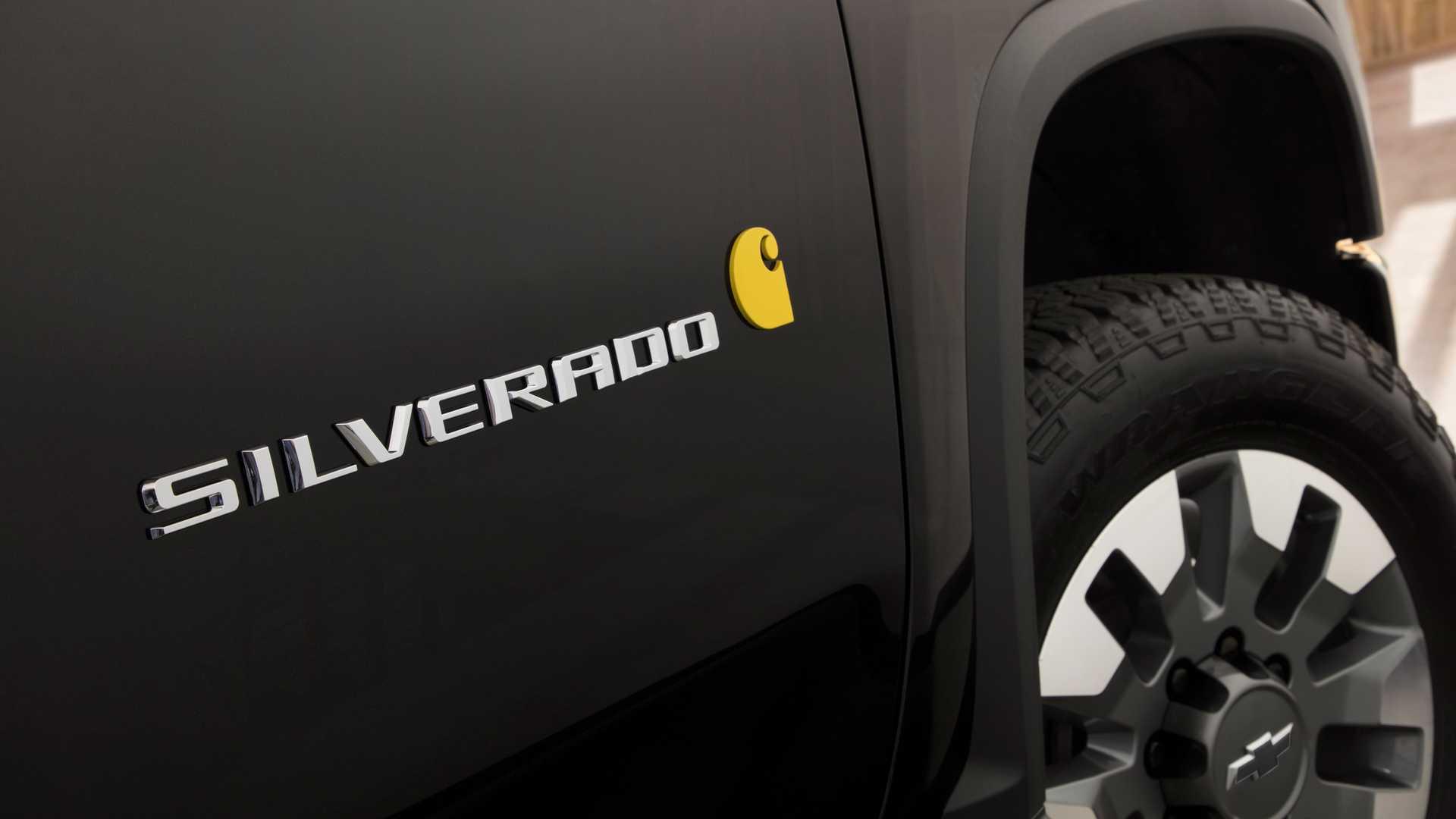 2021 Chevy Silverado HD Carhartt Debuts At SEMA With ...