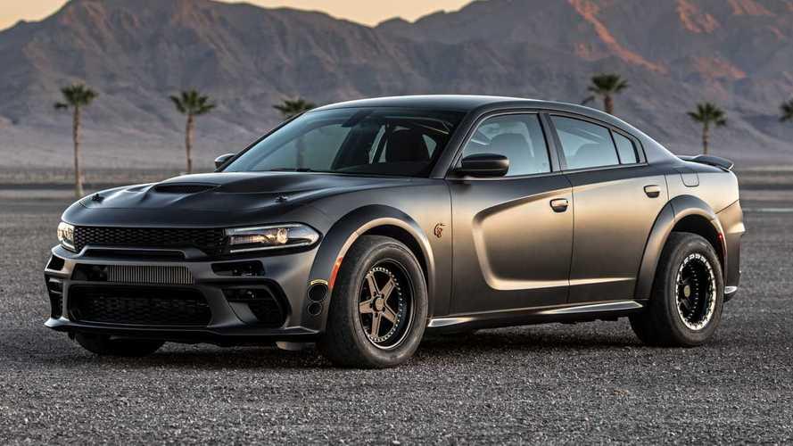 Este Dodge Charger doble turbo tiene tracción total y 1,525 hp