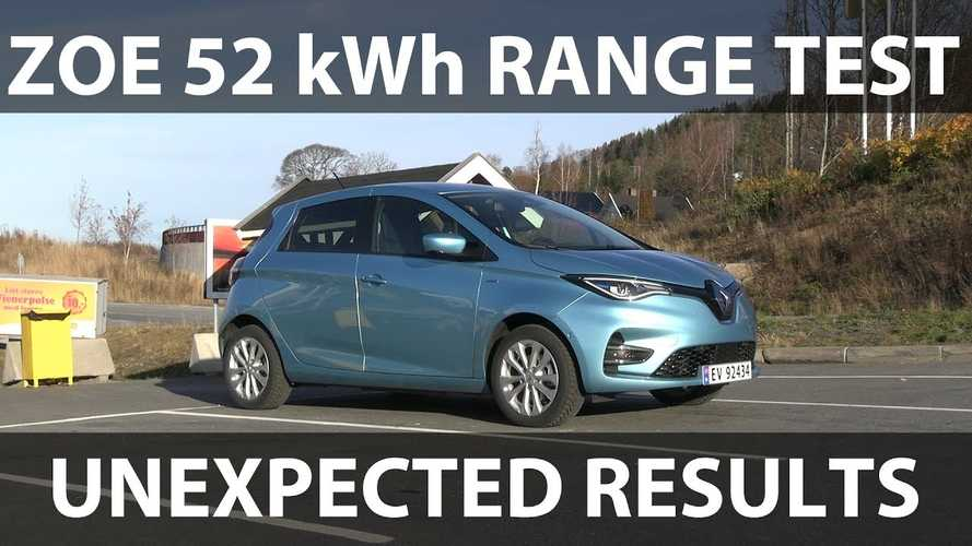 New Renault ZOE Provides Disappointing Range In Bjørn Nyland's Test