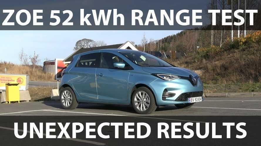 New Renault ZOE Provides Disappointing Range In Bjørn Nyland's Test