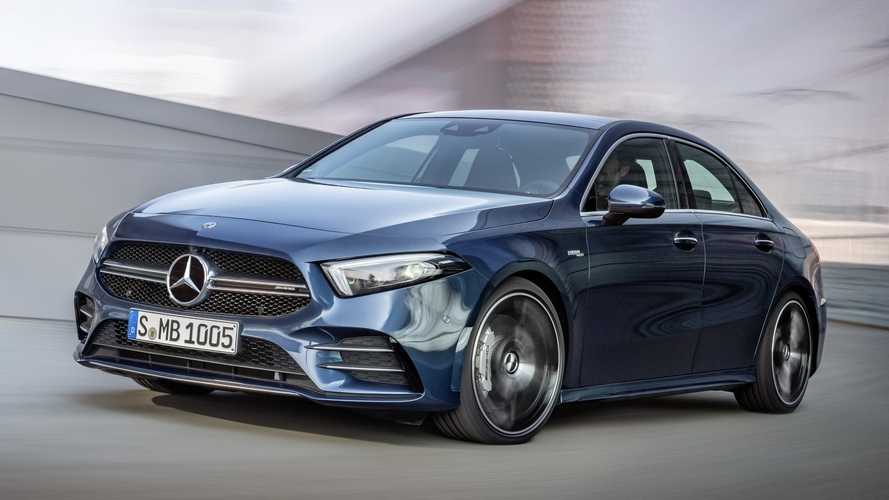 Mercedes-AMG A 35 4MATIC Sedán 2019, primera prueba: ¡emocionante!