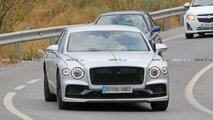 Bentley Flying Spur Speed Spy Shots