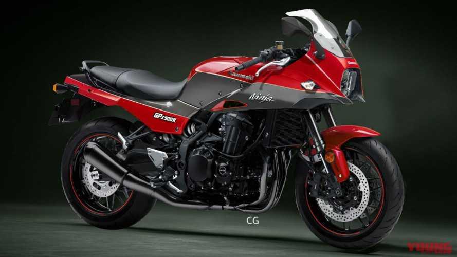 Kawasaki, indizi sulla (possibile) nuova GPZ900R [VIDEO]