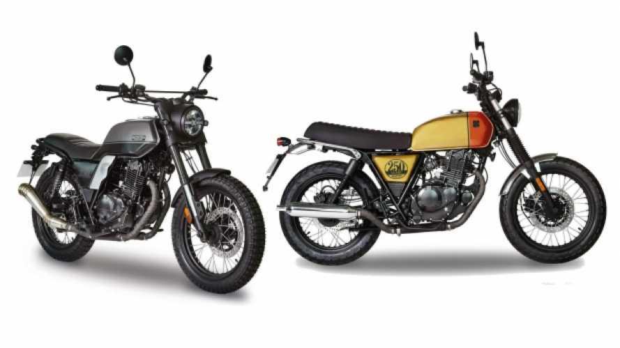 Brixton Motorcycles presenta 2 nuove 250cc