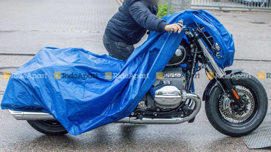 Spotted: The Production Version Of The BMW R18 Shows Its Face