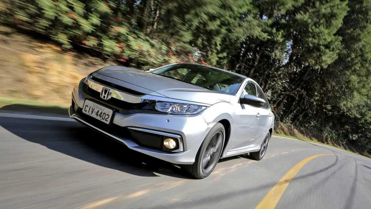 Comparativo: Novo Corolla x Civic x Cruze 2020
