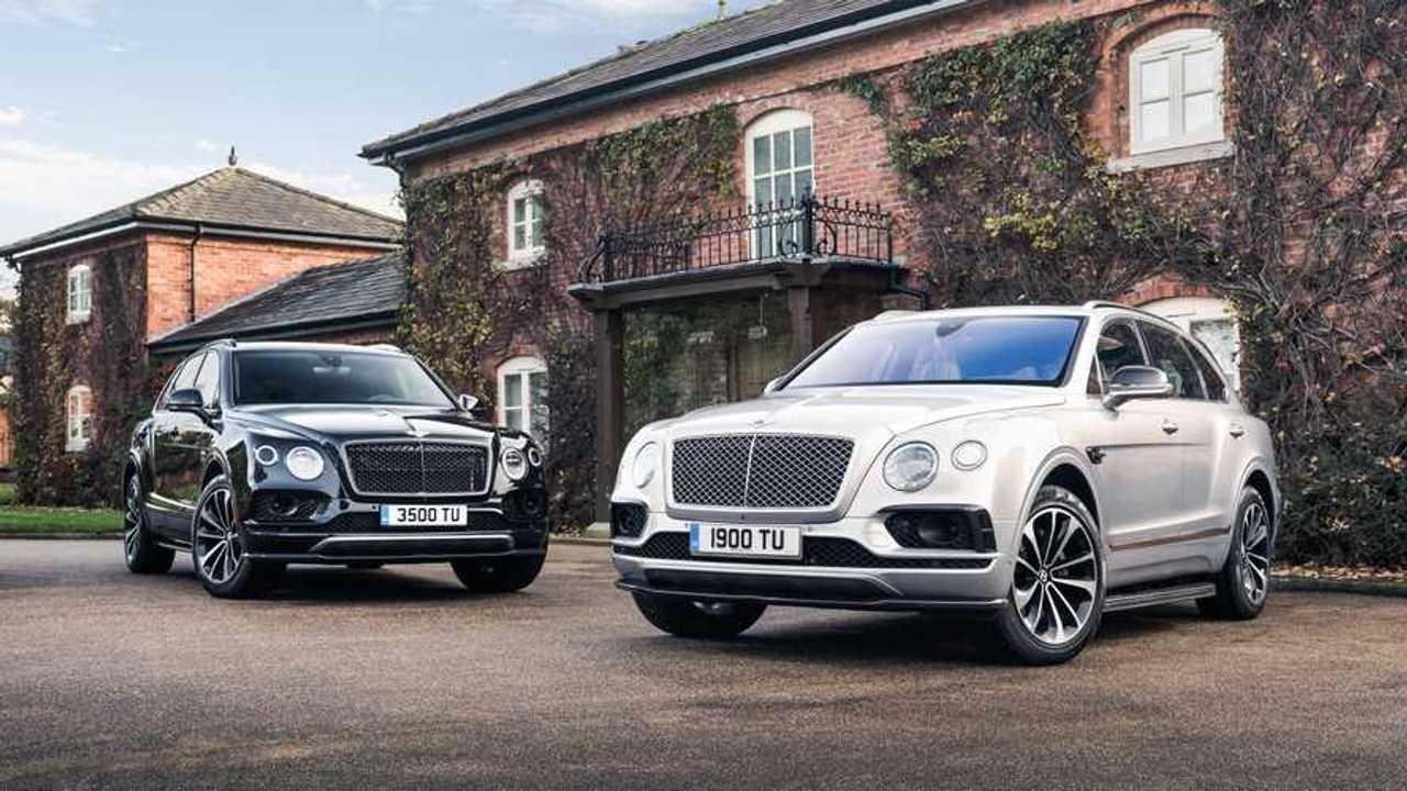 Семиместная и четырехместная Bentley Bentayga