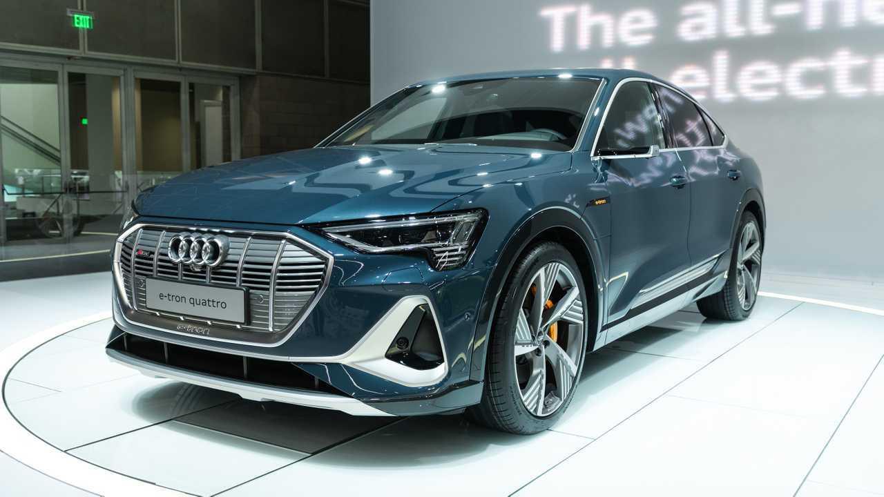 Audi E-Tron Sportback - Fotos ao vivo