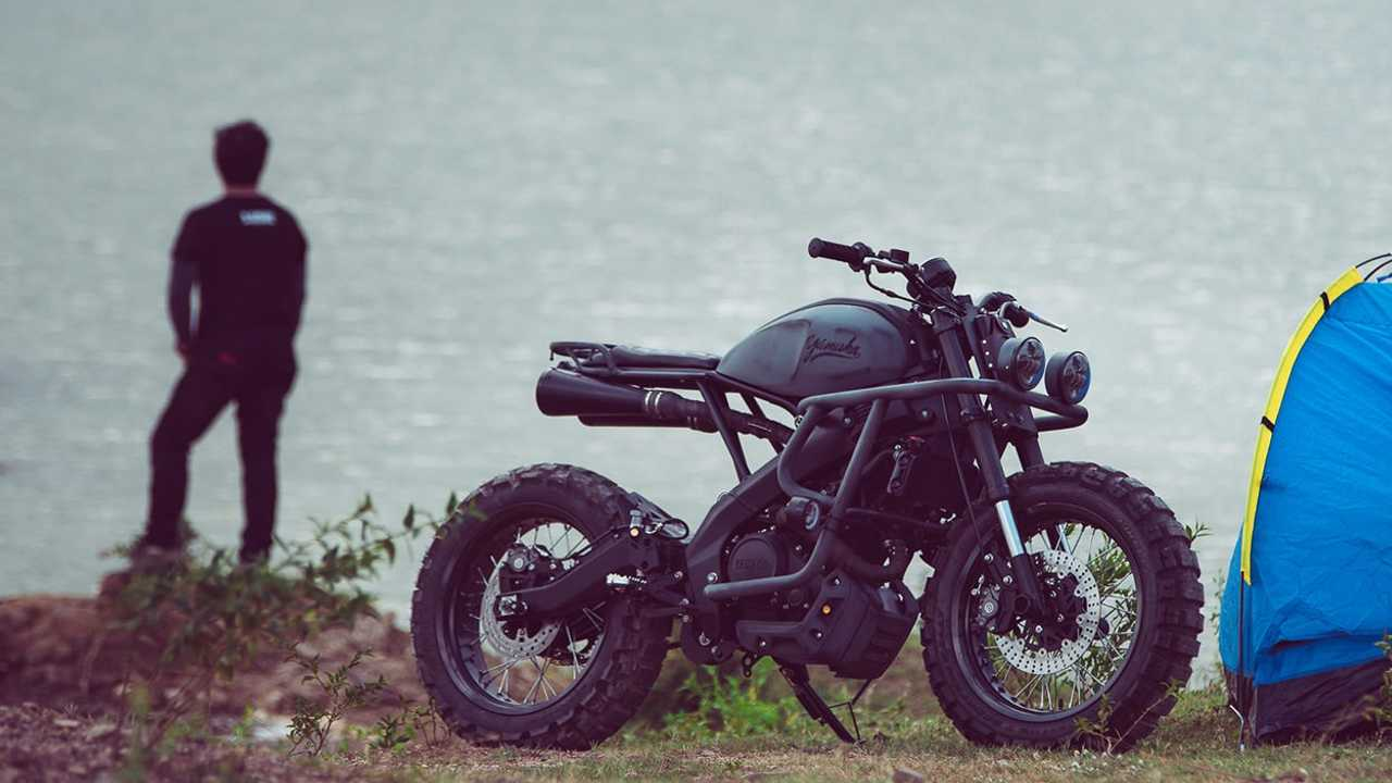 This Custom XSR155 Is Ready For The Hipster Apocalypse
