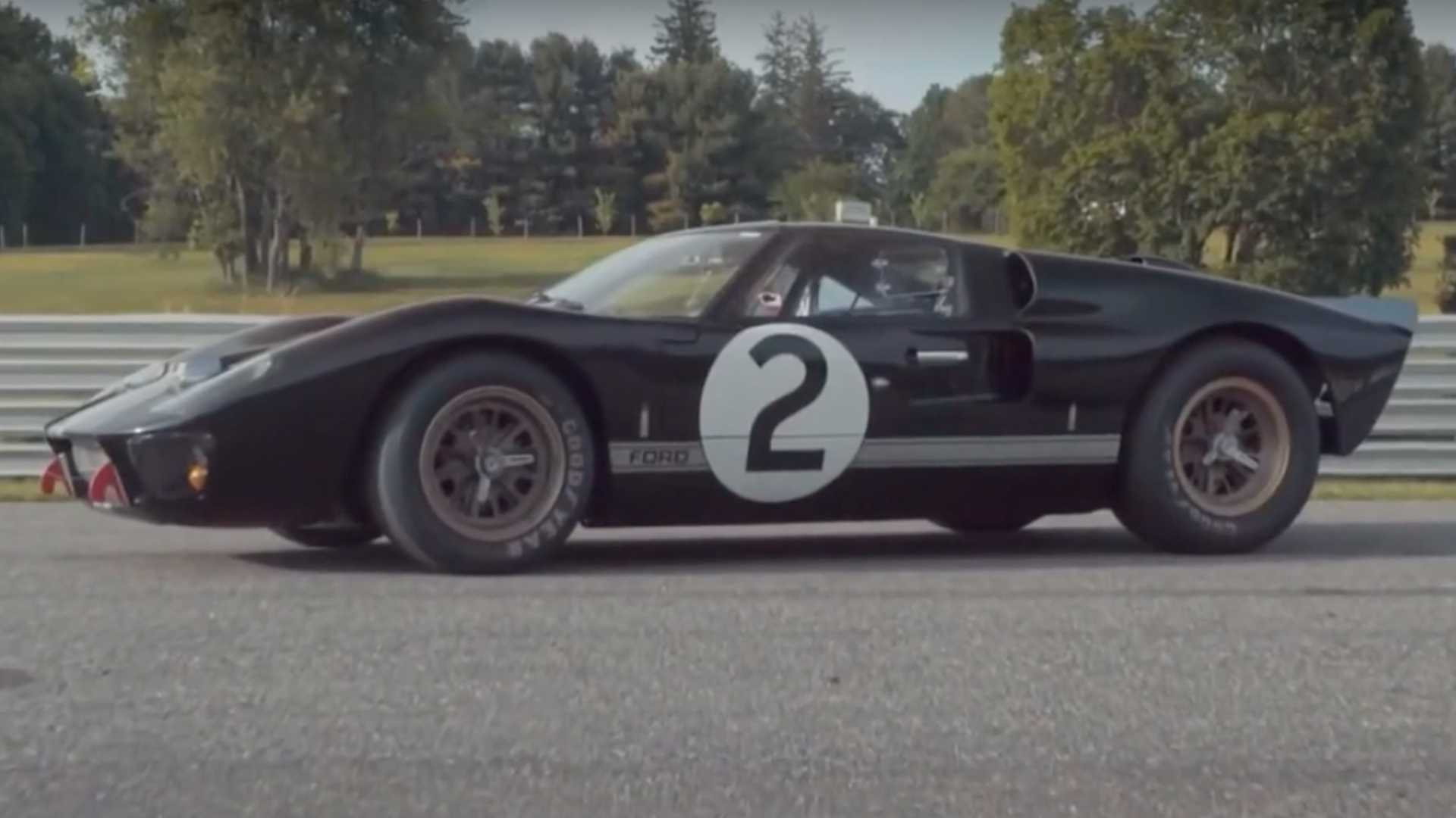 Meet The 1966 Ford Gt40 Mk Ii That Won Le Mans For America