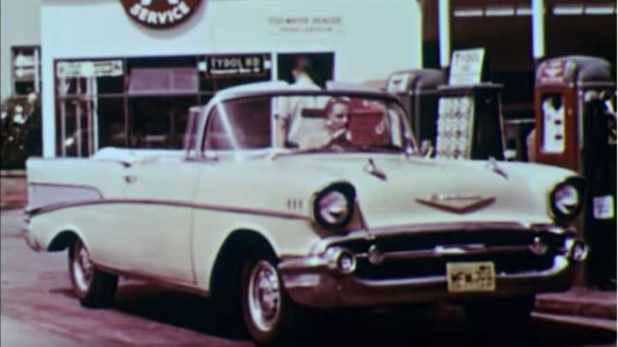 What Gas Stations Were Like In 1957