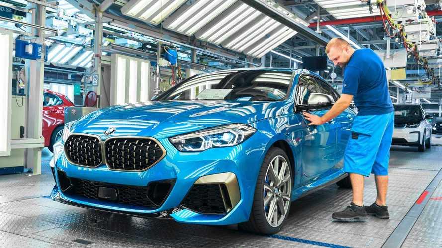Beindult a 2-es BMW Gran Coupe gyártása