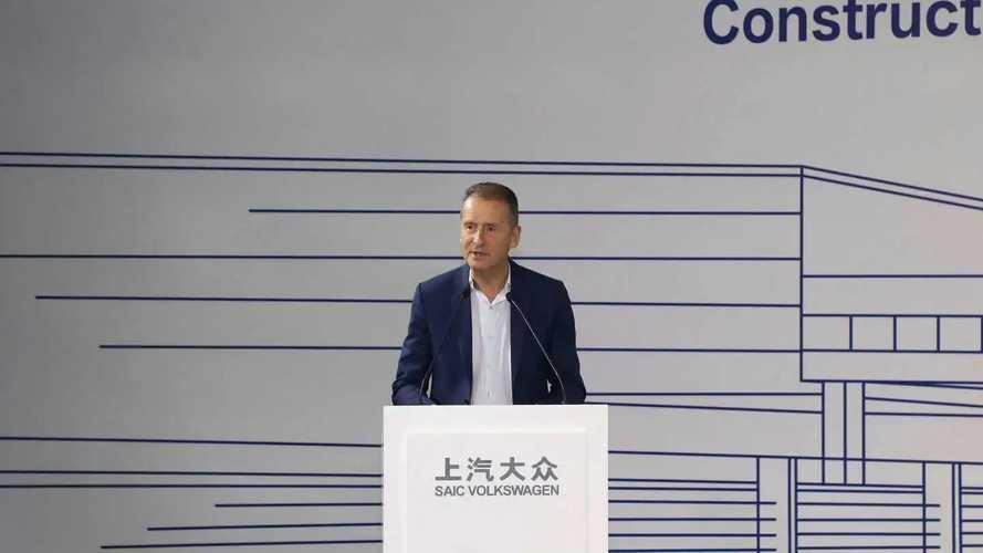 SAIC-Volkswagen, fabbrica per sole auto elettriche ad Anting, in Cina