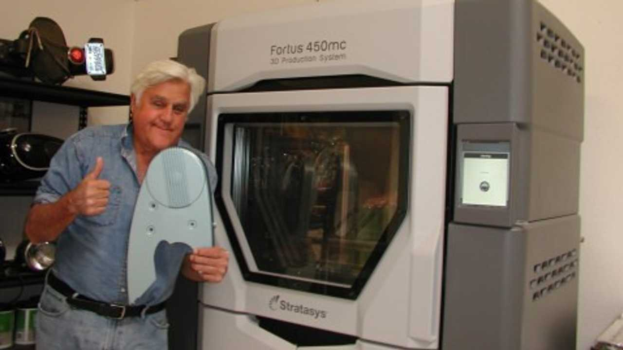 Jay Leno Delves Deeper Into 3D Printing For Classic Cars