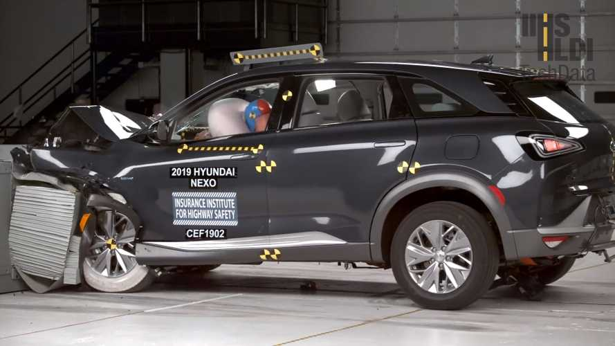 See Hydrogen-Powered Hyundai Nexo Survive Its First Crash Test
