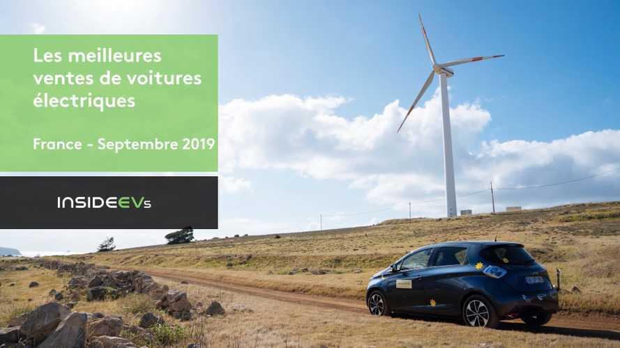 VIDEO - Les 10 voitures électriques les plus vendues en septembre