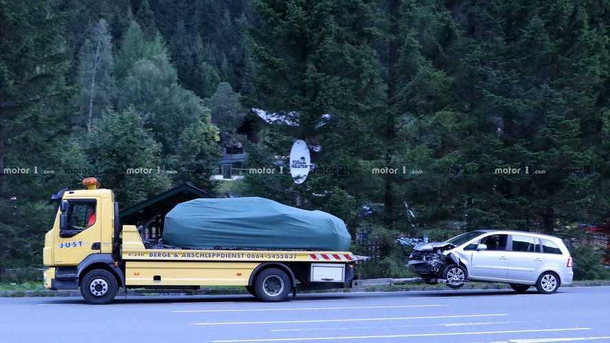 2021 Skoda Octavia RS wagon spy photos