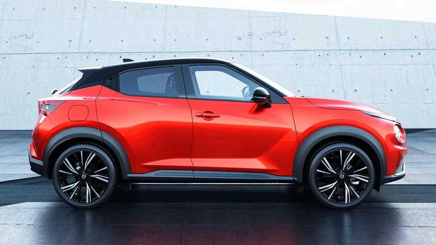 Nissan Juke 2020 vs. Juke 2014