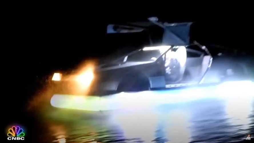 DeLorean Hovercraft