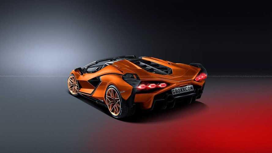 Lamborghini Sian Roadster – рендеры