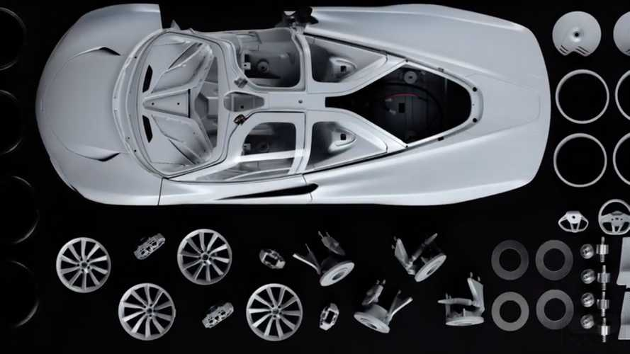 See The 1,000 Individual Parts Needed To Make McLaren Speedtail Model