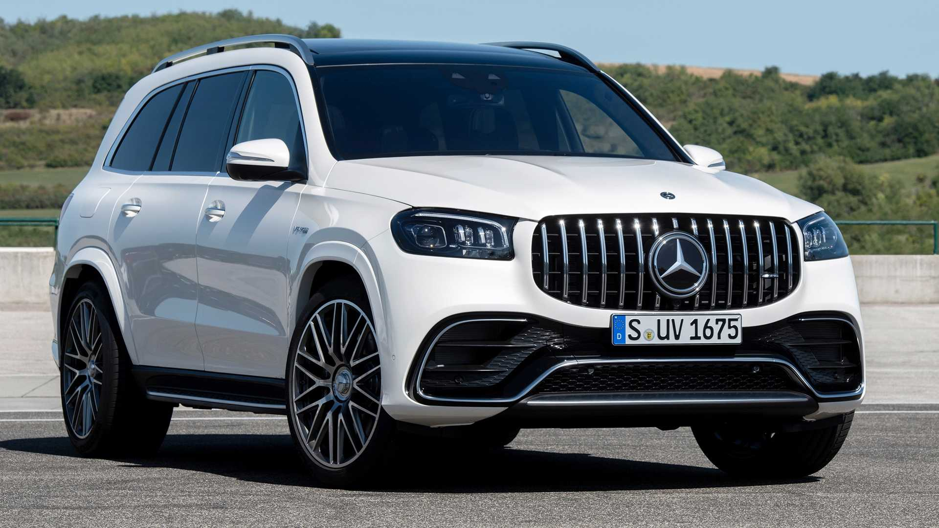 2021 Mercedes-AMG GLE 63 S And GLS 63 Power Into L.A. With 603 HP