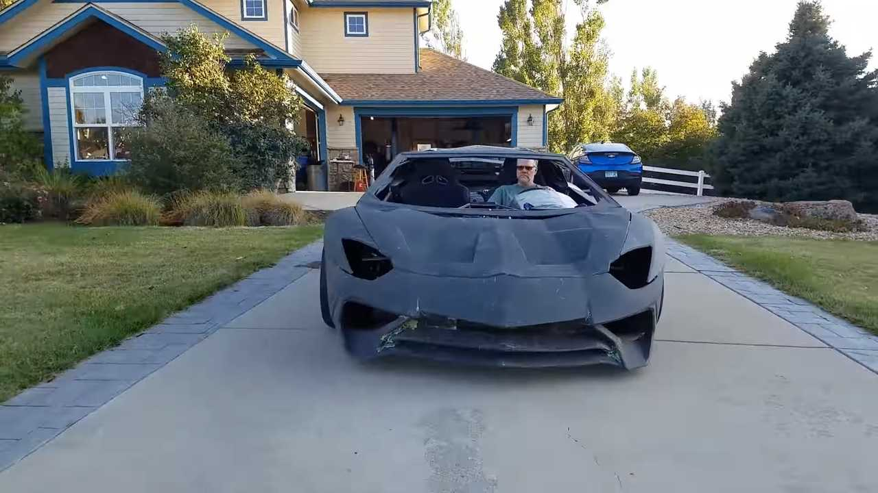 3D nyomtatott Lamborghini Aventador