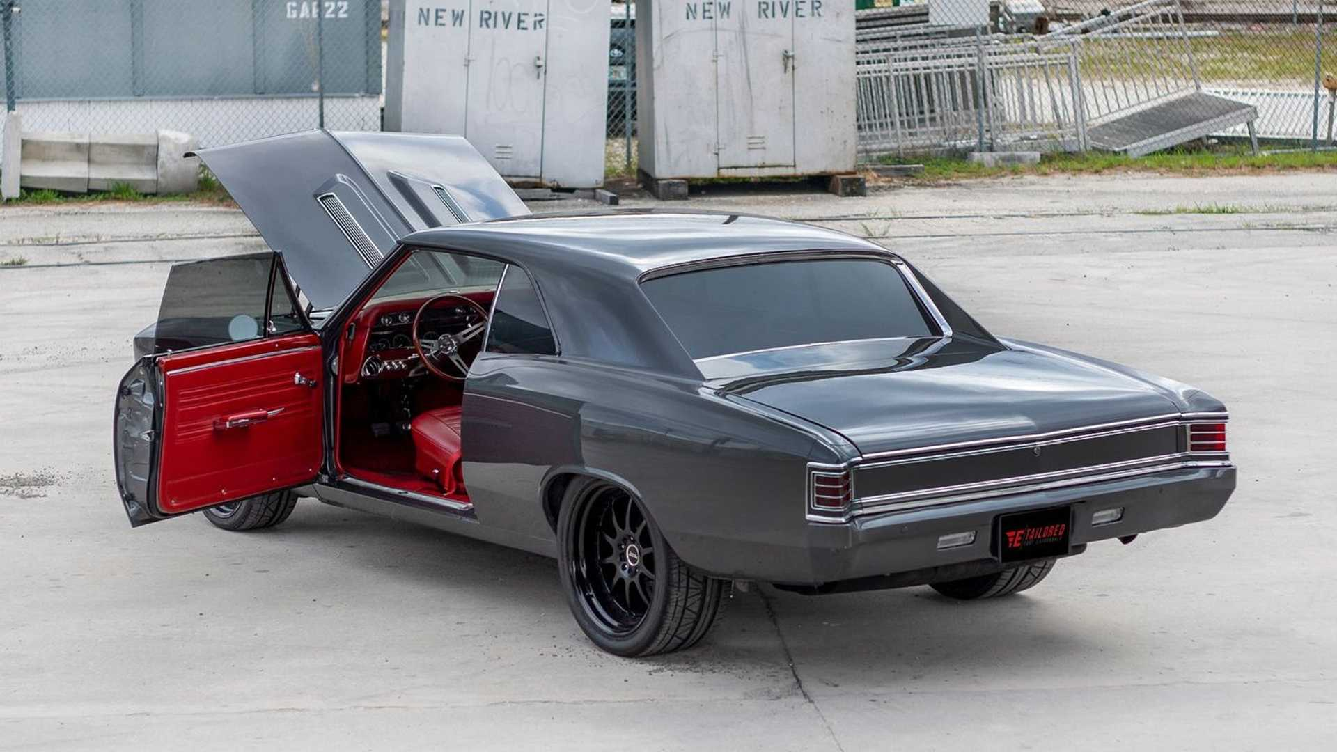 """[""""Check Out This Sinister 1967 Chevy Chevelle Restomod""""]"""